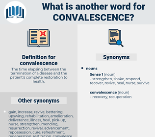 convalescence, synonym convalescence, another word for convalescence, words like convalescence, thesaurus convalescence