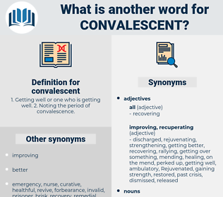 convalescent, synonym convalescent, another word for convalescent, words like convalescent, thesaurus convalescent