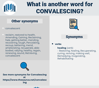 Convalescing, synonym Convalescing, another word for Convalescing, words like Convalescing, thesaurus Convalescing