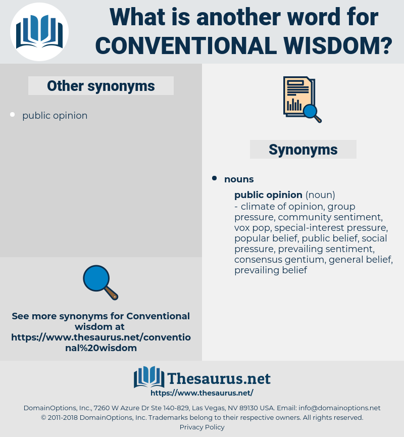 conventional wisdom, synonym conventional wisdom, another word for conventional wisdom, words like conventional wisdom, thesaurus conventional wisdom