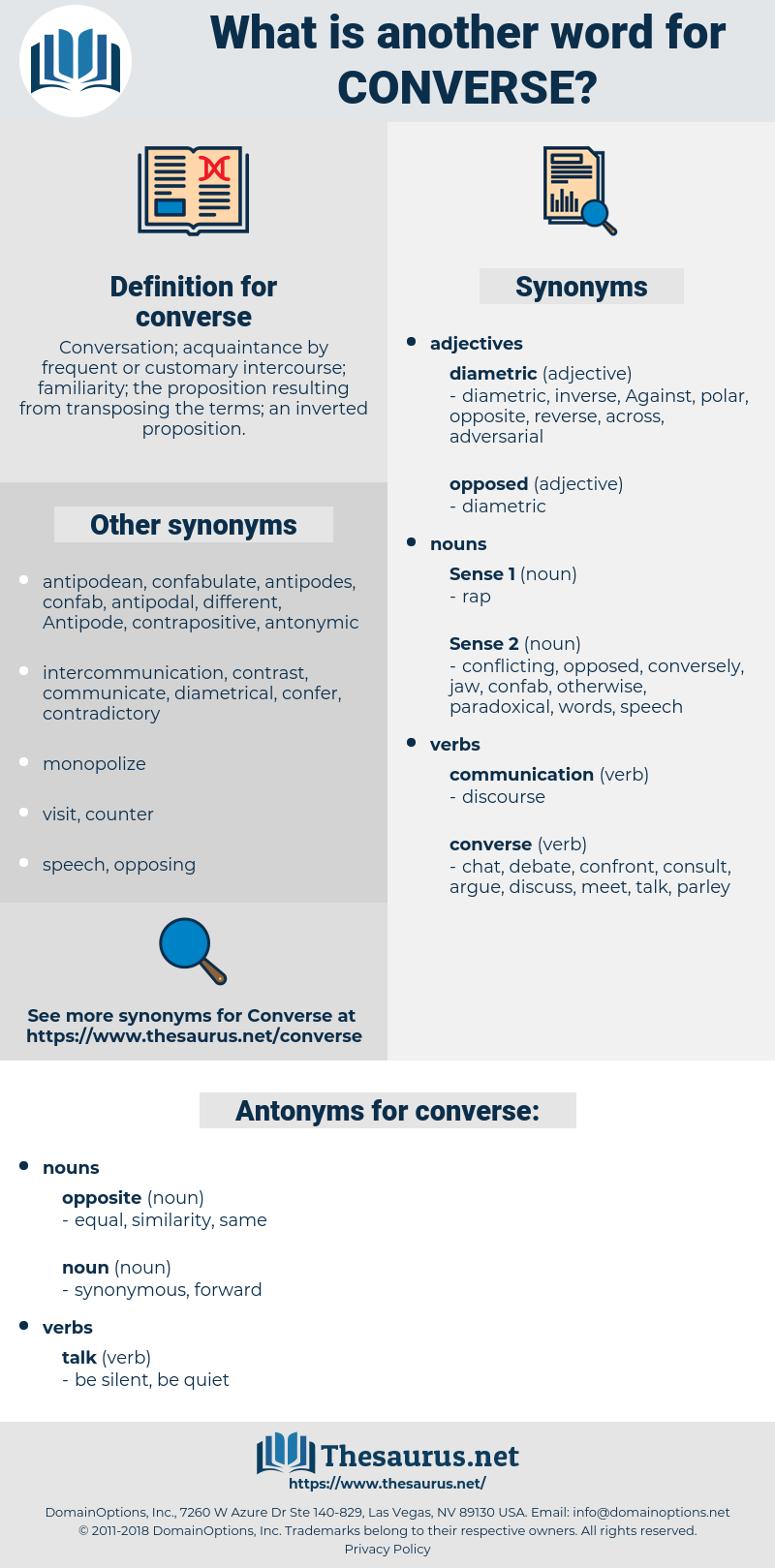 converse, synonym converse, another word for converse, words like converse, thesaurus converse