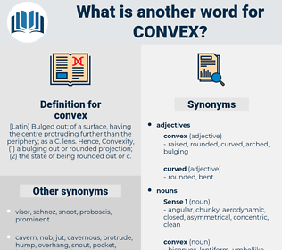 convex, synonym convex, another word for convex, words like convex, thesaurus convex