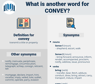 convey, synonym convey, another word for convey, words like convey, thesaurus convey