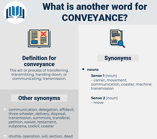 conveyance, synonym conveyance, another word for conveyance, words like conveyance, thesaurus conveyance