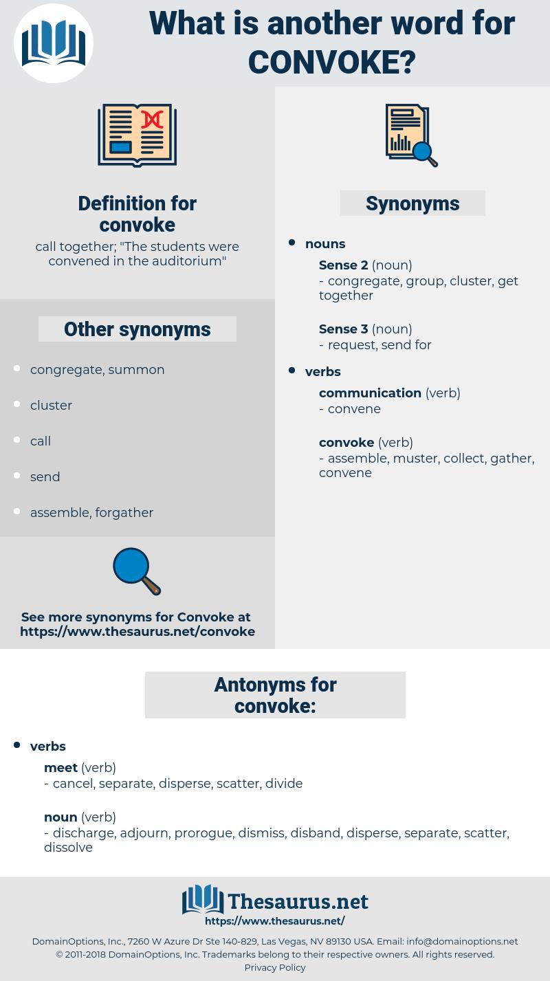 convoke, synonym convoke, another word for convoke, words like convoke, thesaurus convoke