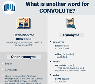 convolute, synonym convolute, another word for convolute, words like convolute, thesaurus convolute