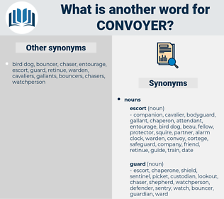 convoyer, synonym convoyer, another word for convoyer, words like convoyer, thesaurus convoyer