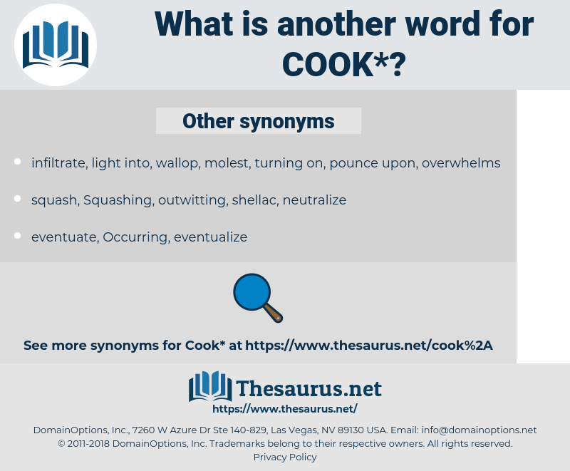 cook, synonym cook, another word for cook, words like cook, thesaurus cook