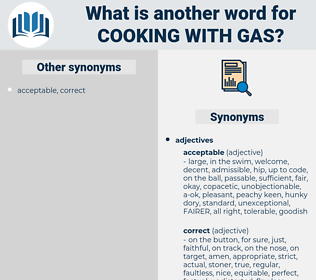 cooking with gas, synonym cooking with gas, another word for cooking with gas, words like cooking with gas, thesaurus cooking with gas