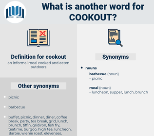 cookout, synonym cookout, another word for cookout, words like cookout, thesaurus cookout