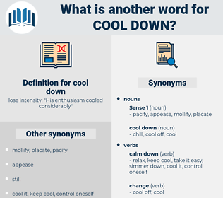 cool down, synonym cool down, another word for cool down, words like cool down, thesaurus cool down