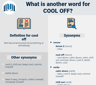 cool off, synonym cool off, another word for cool off, words like cool off, thesaurus cool off