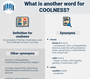 coolness, synonym coolness, another word for coolness, words like coolness, thesaurus coolness