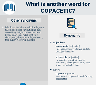 copacetic, synonym copacetic, another word for copacetic, words like copacetic, thesaurus copacetic