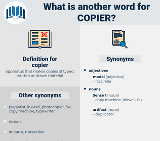 copier, synonym copier, another word for copier, words like copier, thesaurus copier
