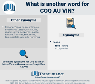 coq au vin, synonym coq au vin, another word for coq au vin, words like coq au vin, thesaurus coq au vin