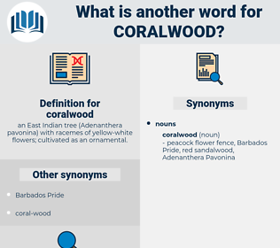 coralwood, synonym coralwood, another word for coralwood, words like coralwood, thesaurus coralwood
