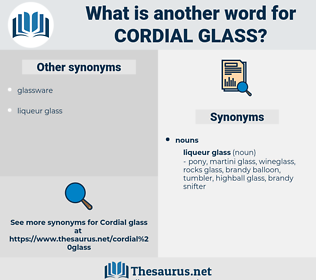 cordial glass, synonym cordial glass, another word for cordial glass, words like cordial glass, thesaurus cordial glass