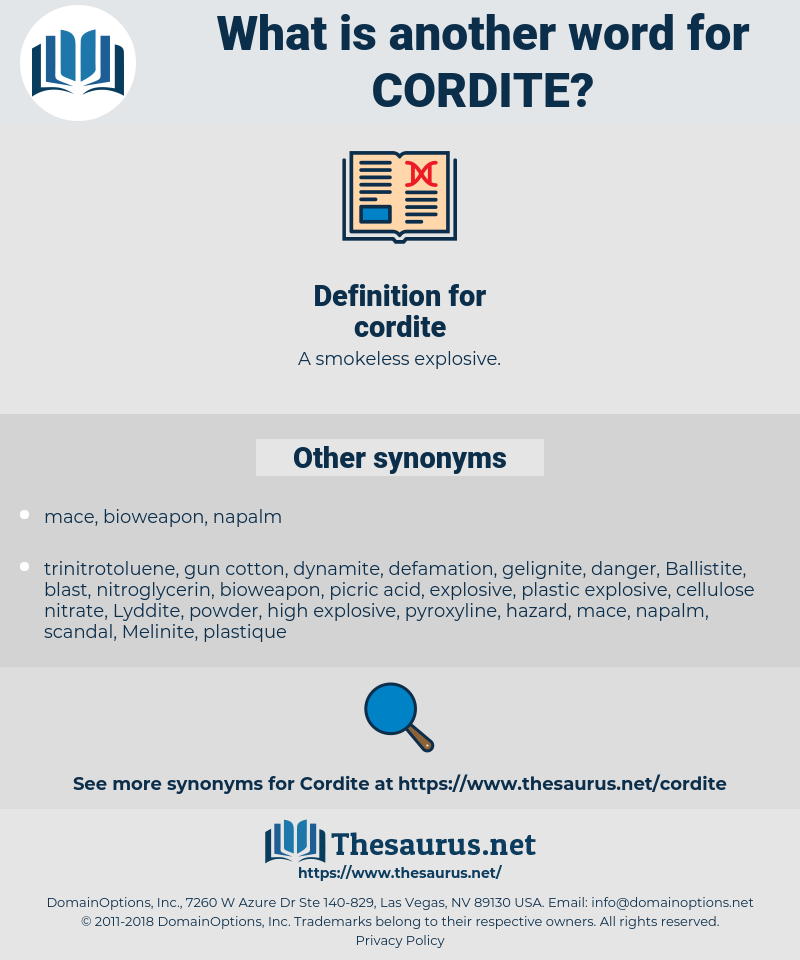 cordite, synonym cordite, another word for cordite, words like cordite, thesaurus cordite