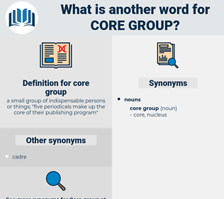 core group, synonym core group, another word for core group, words like core group, thesaurus core group