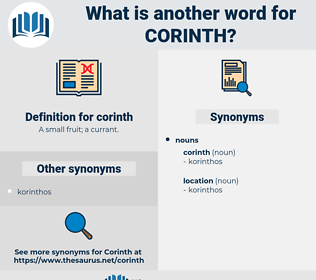 corinth, synonym corinth, another word for corinth, words like corinth, thesaurus corinth