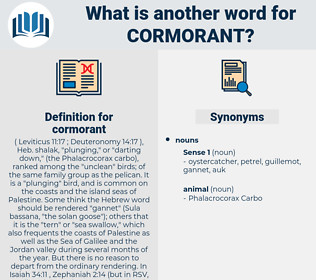 cormorant, synonym cormorant, another word for cormorant, words like cormorant, thesaurus cormorant