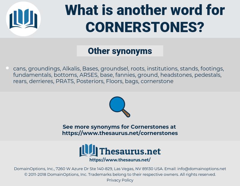 cornerstones, synonym cornerstones, another word for cornerstones, words like cornerstones, thesaurus cornerstones