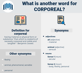 corporeal, synonym corporeal, another word for corporeal, words like corporeal, thesaurus corporeal