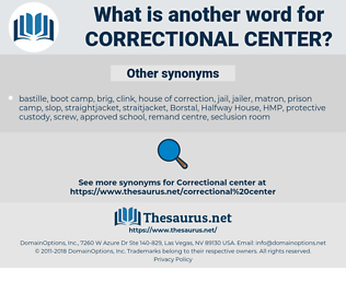 correctional center, synonym correctional center, another word for correctional center, words like correctional center, thesaurus correctional center