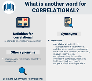 correlational, synonym correlational, another word for correlational, words like correlational, thesaurus correlational