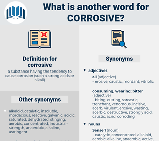 corrosive, synonym corrosive, another word for corrosive, words like corrosive, thesaurus corrosive