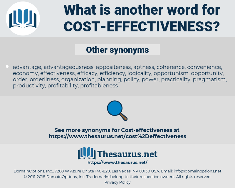 cost-effectiveness, synonym cost-effectiveness, another word for cost-effectiveness, words like cost-effectiveness, thesaurus cost-effectiveness