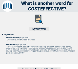 costeffective, synonym costeffective, another word for costeffective, words like costeffective, thesaurus costeffective