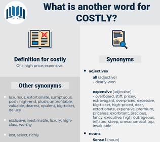 costly, synonym costly, another word for costly, words like costly, thesaurus costly