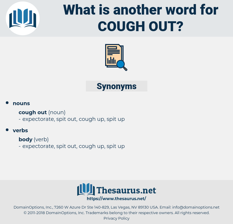 cough out, synonym cough out, another word for cough out, words like cough out, thesaurus cough out