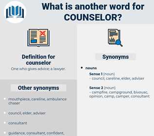 counselor, synonym counselor, another word for counselor, words like counselor, thesaurus counselor