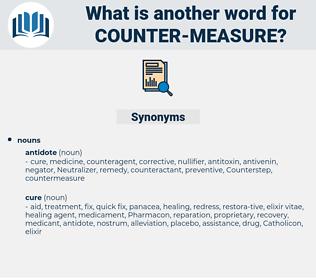 counter measure, synonym counter measure, another word for counter measure, words like counter measure, thesaurus counter measure