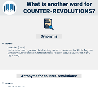 counter revolutions, synonym counter revolutions, another word for counter revolutions, words like counter revolutions, thesaurus counter revolutions