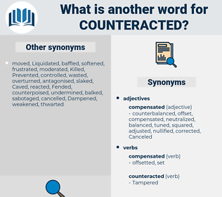 Counteracted, synonym Counteracted, another word for Counteracted, words like Counteracted, thesaurus Counteracted