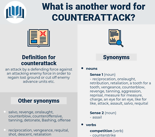 counterattack, synonym counterattack, another word for counterattack, words like counterattack, thesaurus counterattack
