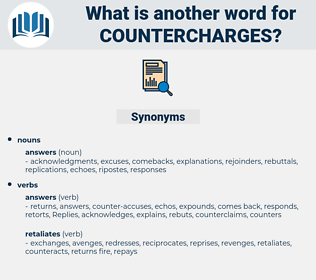 countercharges, synonym countercharges, another word for countercharges, words like countercharges, thesaurus countercharges