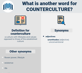 counterculture, synonym counterculture, another word for counterculture, words like counterculture, thesaurus counterculture