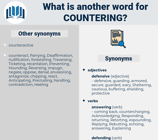 countering, synonym countering, another word for countering, words like countering, thesaurus countering