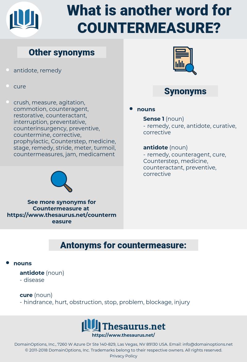 countermeasure, synonym countermeasure, another word for countermeasure, words like countermeasure, thesaurus countermeasure