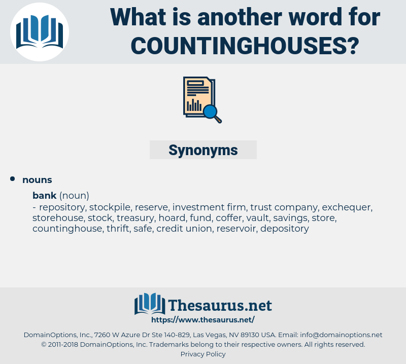 countinghouses, synonym countinghouses, another word for countinghouses, words like countinghouses, thesaurus countinghouses