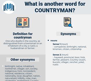 countryman, synonym countryman, another word for countryman, words like countryman, thesaurus countryman
