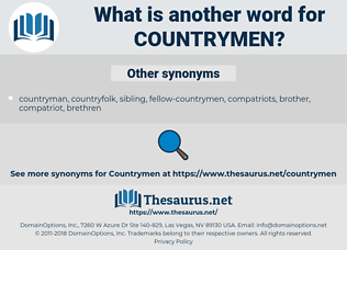 Countrymen, synonym Countrymen, another word for Countrymen, words like Countrymen, thesaurus Countrymen