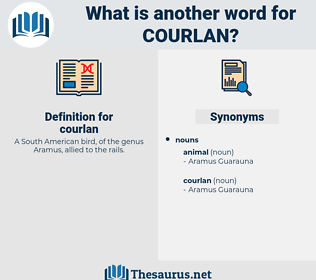courlan, synonym courlan, another word for courlan, words like courlan, thesaurus courlan