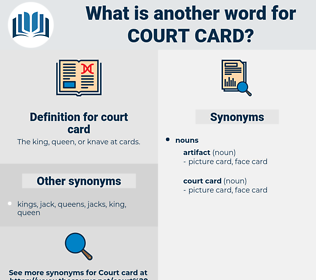 court card, synonym court card, another word for court card, words like court card, thesaurus court card