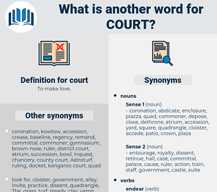 court, synonym court, another word for court, words like court, thesaurus court